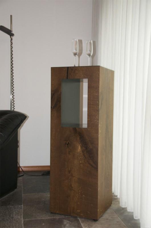 schreinerei robert l ngle ein pult aus ger ucherter eiche. Black Bedroom Furniture Sets. Home Design Ideas